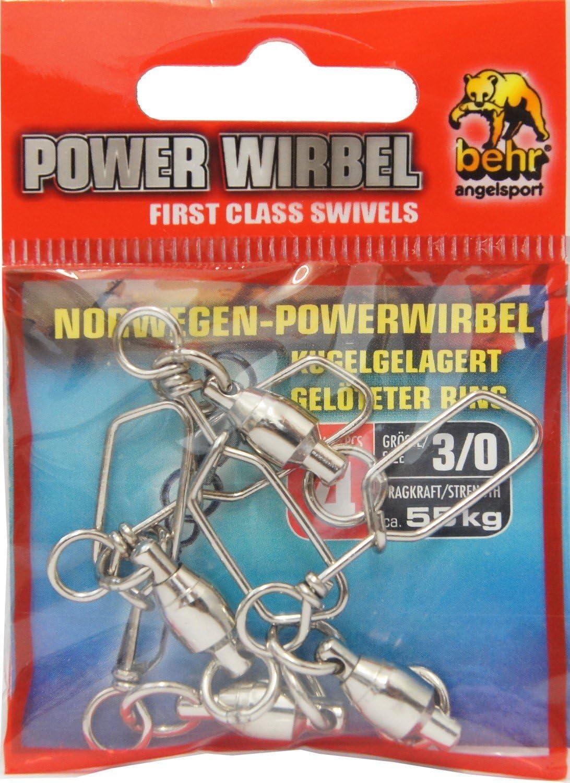 Pack Tönnchenwirbel mit KarabinerAngelwirbel Power Wirbel PHOENIX KRA101
