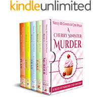 A Slice of Paradise Cozy Mystery BOX SET, Books 1-5: The Complete Culinary Cozy Mystery Series With Delicious Recipes