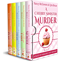 Slice of Paradise Cozy Mysteries, The Complete Series Box Set: With All 5 Books & All 5 Recipes from the series Plus a Bonus Prequel (English Edition)