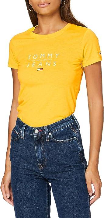 Tommy Hilfiger Tjw Essential Logo tee Camisa para Mujer: Amazon.es: Ropa y accesorios