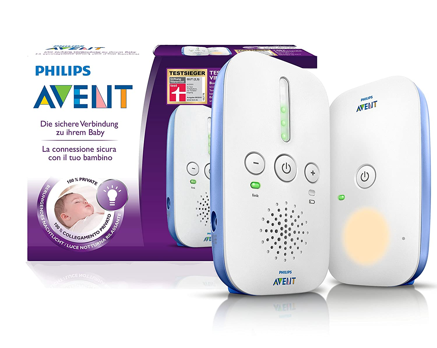 [amazon.de] Philips Avent SCD501/00 DECT Babyphone um 34,99€