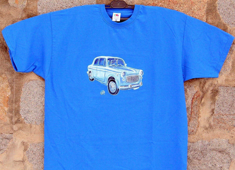 93830b132b Hillman Minx Series 3 classic car t-shirt Men's Clothing Original Art Sketch  t-shirt