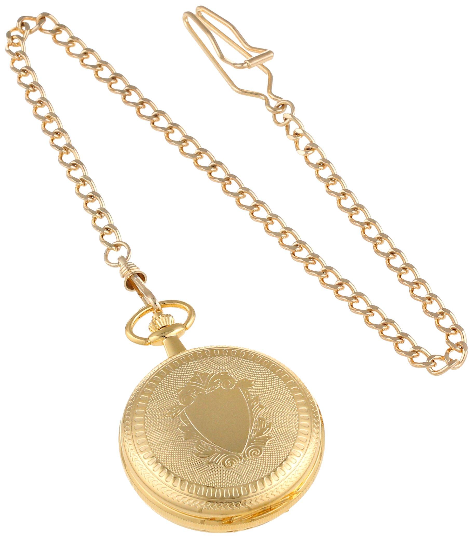 Charles-Hubert, Paris 3556 Gold-Plated Mechanical Pocket Watch by CHARLES-HUBERT PARIS (Image #2)