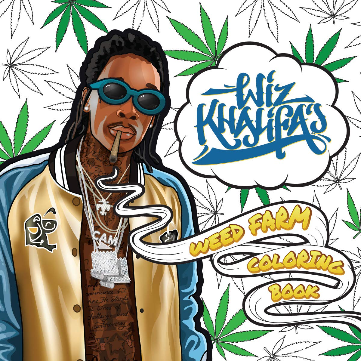 Khalifas Weed Farm Coloring Book product image