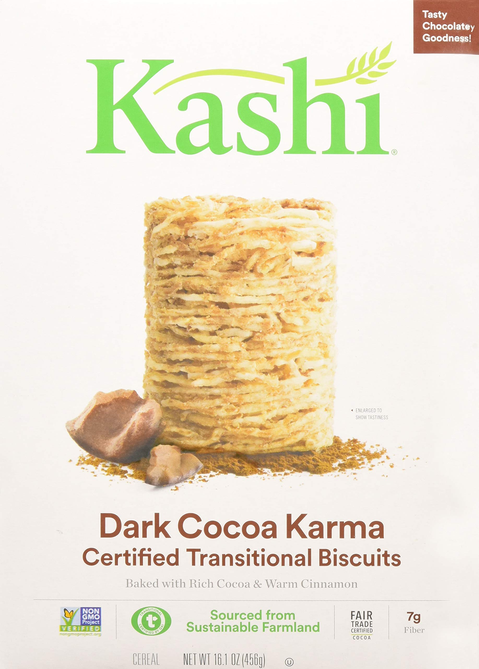 Kashi Organic Promise Cereal (dark Cocoa Karma), 16.100000000000001 Ounce (pack Of 12) by Kashi (Image #1)