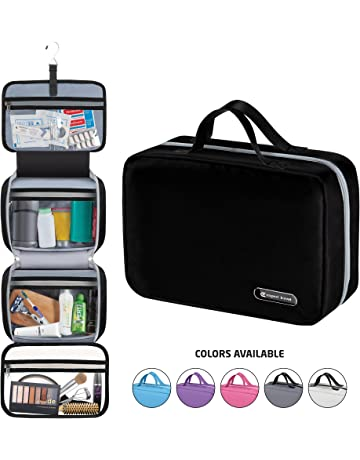 cea72d7444 Hanging Travel Toiletry Bag for Men and Women