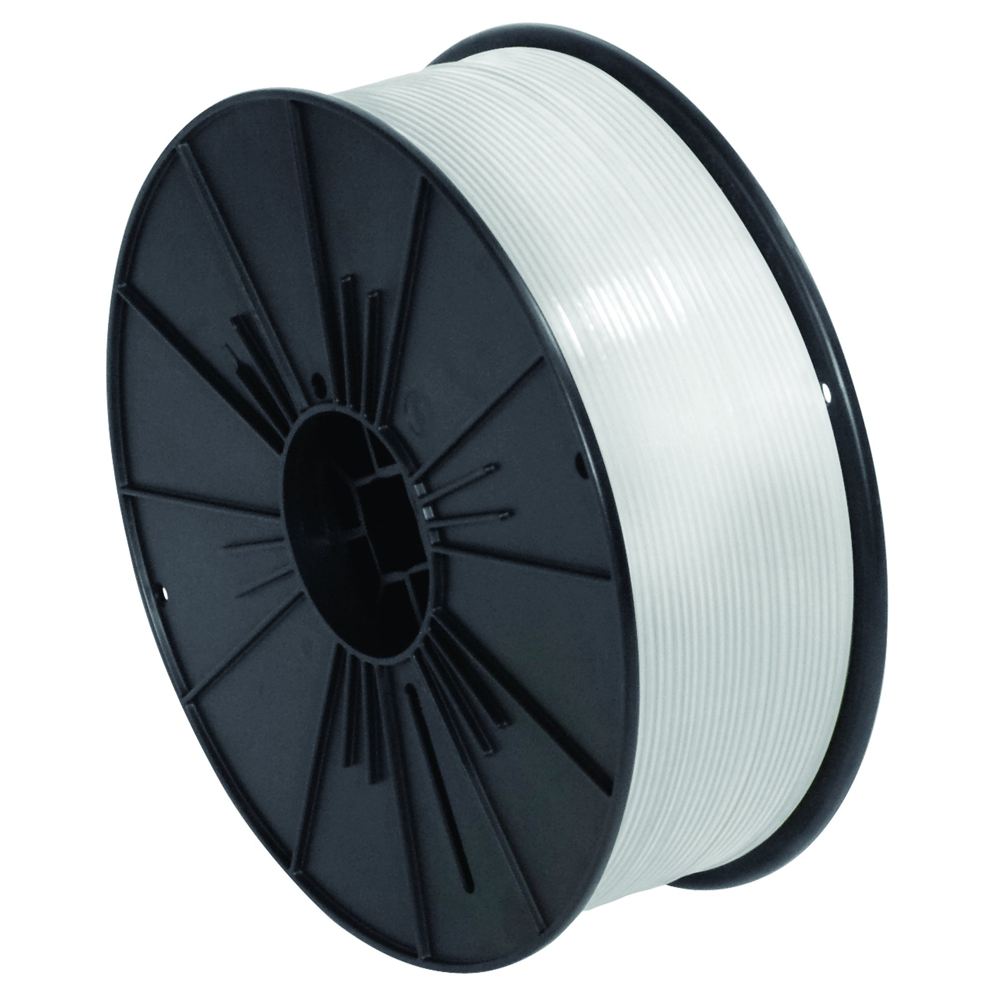 Ship Now Supply SNPLTS532W Plastic Twist Tie Spool, 5/32'' x 7000', 0.156'' width, White by Ship Now Supply