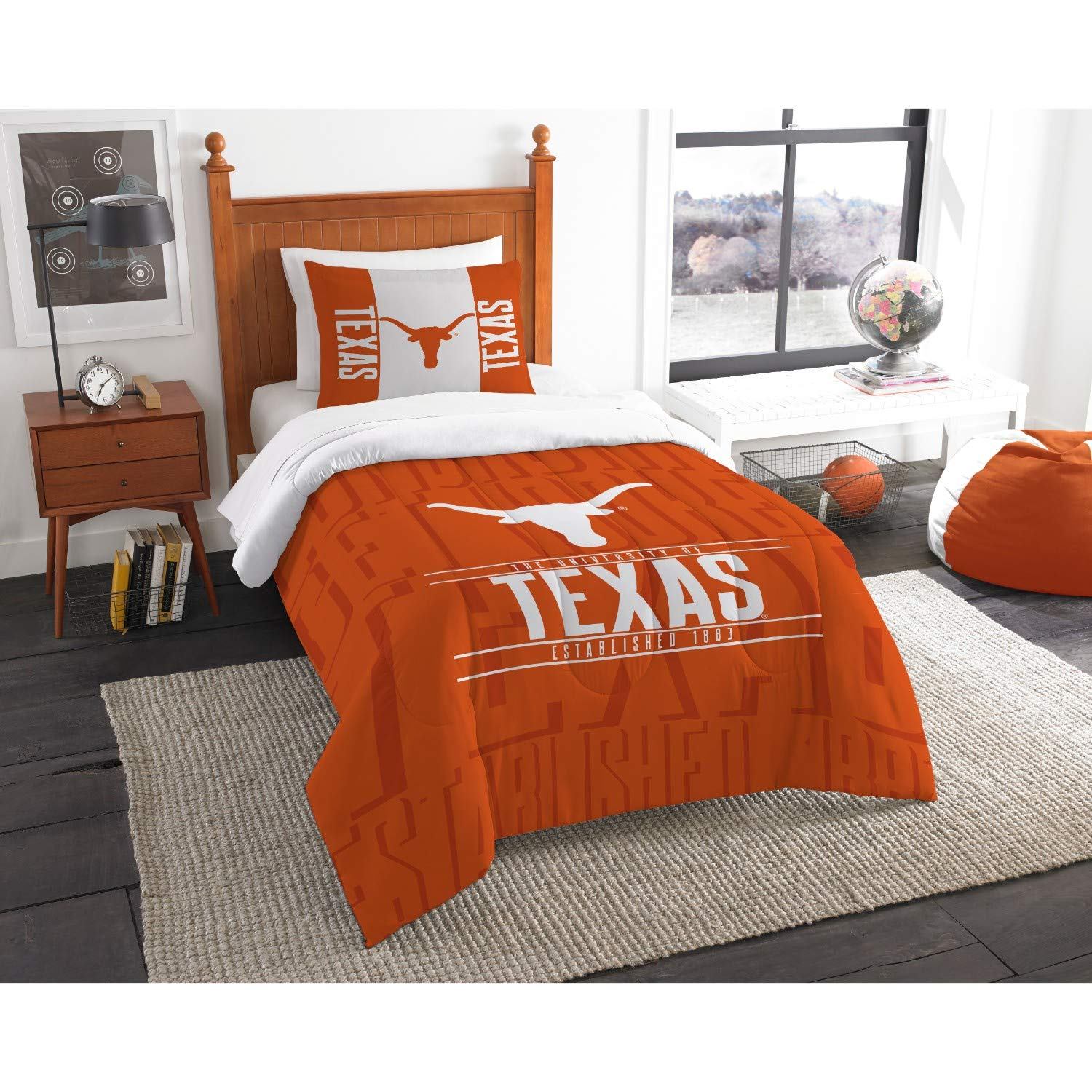 【限定製作】 Texas Longhorns Texas Longhorns B07F23L34K Twin Comforter Set [並行輸入品] B07F23L34K, 100%正規品:69f53b44 --- trainersnit-com.access.secure-ssl-servers.info