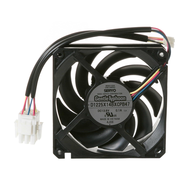 WR60X10358 GE Refrigerator Fan Condenser Dc
