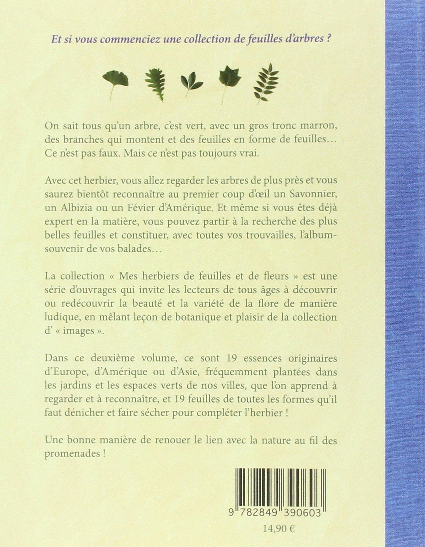 Bien-aimé Amazon.fr - Mon Herbier des feuilles d'arbresDes parcs et des  AA61