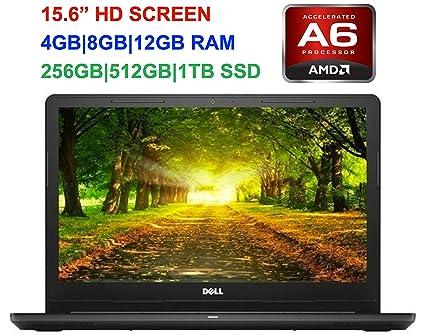 2fe7dd54a98d 2019 Newest Premium Dell Inspiron 15.6-inch HD Laptop, AMD A6-9200  Dual-Core 2GHz(Up to 2.8GHZ), 4GB 8GB 12GB RAM, 500GB 1TB HDD,  128GB 256GB 512GB ...
