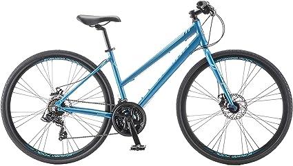 Schwinn Hybrid Bike Blue 700C Women/'s Cruiser Alloy Frame Sport Road Bicycle New