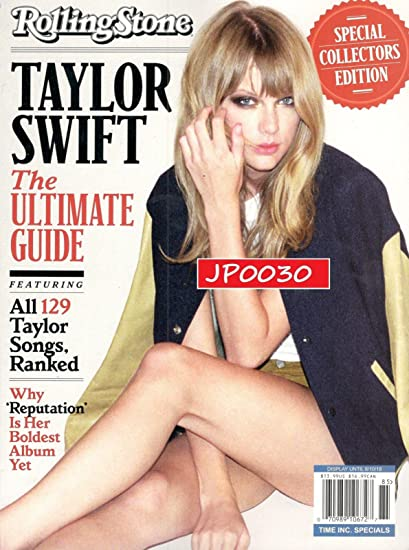 Amazon Com Rolling Stone Magazine Special Collector S 2018 Taylor Swift Everything Else