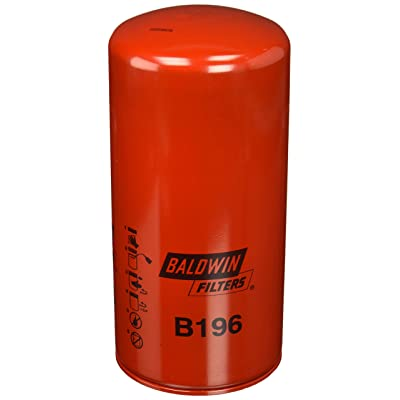 Baldwin B196 Heavy Duty Lube Spin-On Filter: Automotive