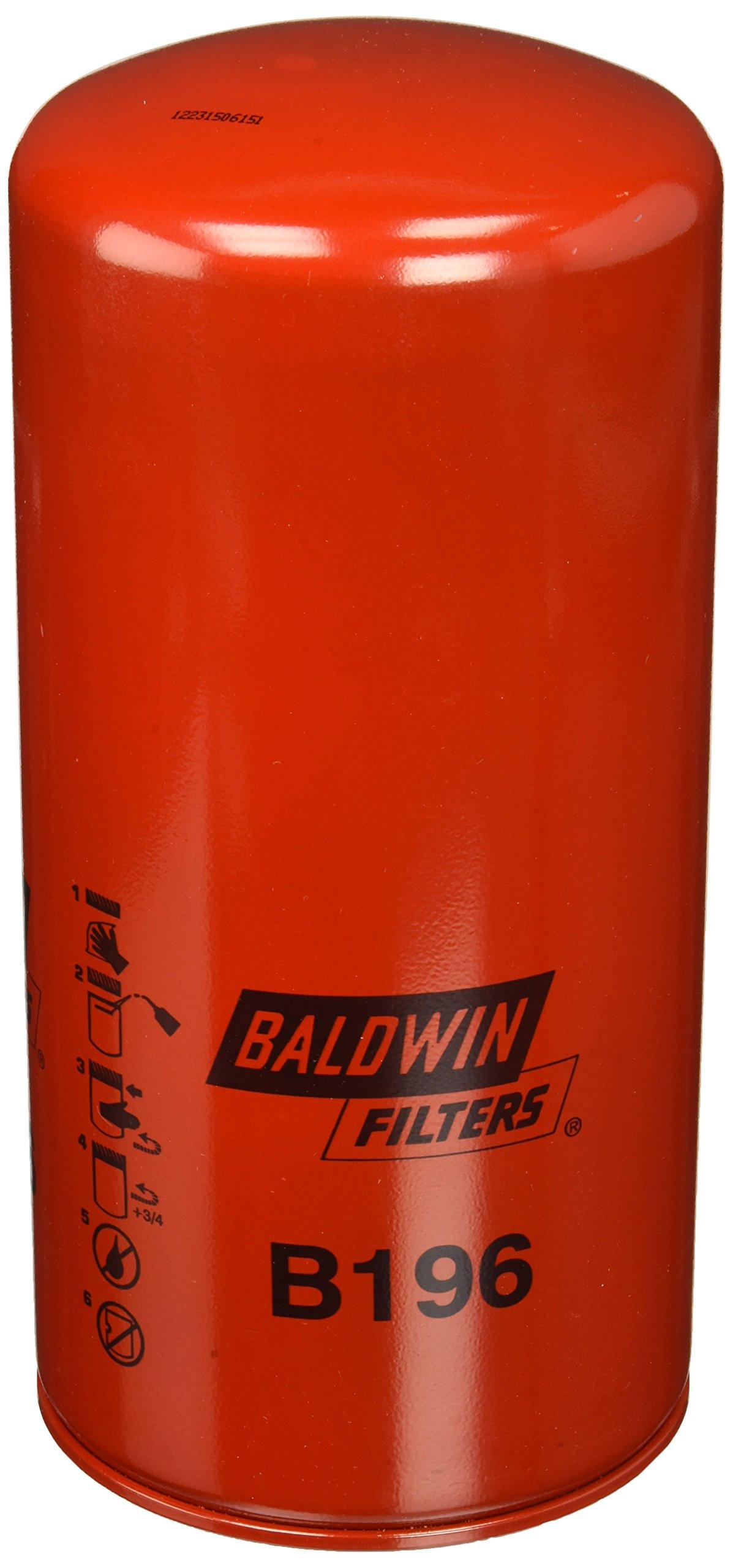 Baldwin B196 Heavy Duty Lube Spin-On Filter