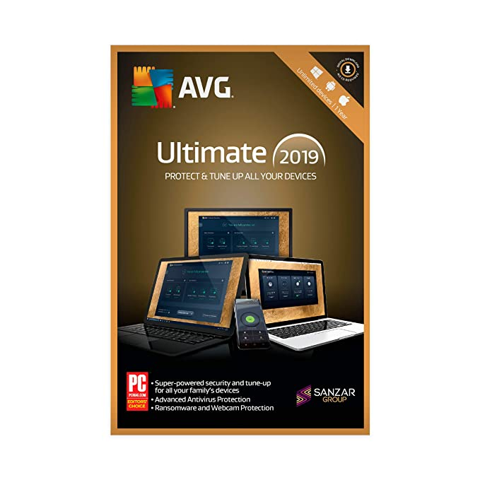 AVG Ultimate (PC, Mac & Android) (Unlimited Devices | 1 Year) (Email  Delivery in 2 hours- No CD)