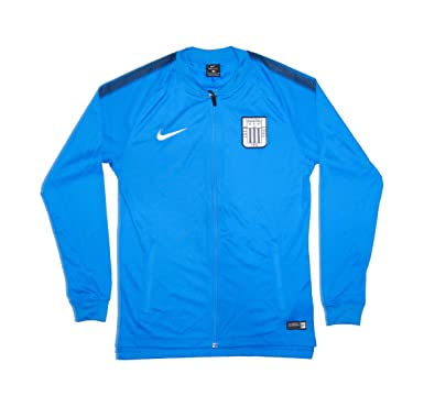 Men s Official 2017-2018 Alianza Lima Dry Squad Jacket 884479-406 Blue ( Small 0fc3c7214