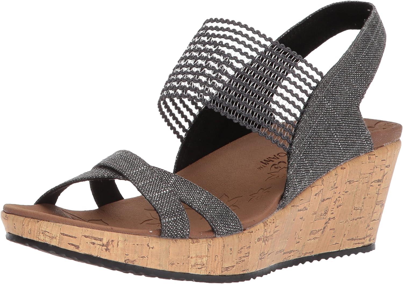 Skechers Women's Beverlee - High Tea Wedge Sandal
