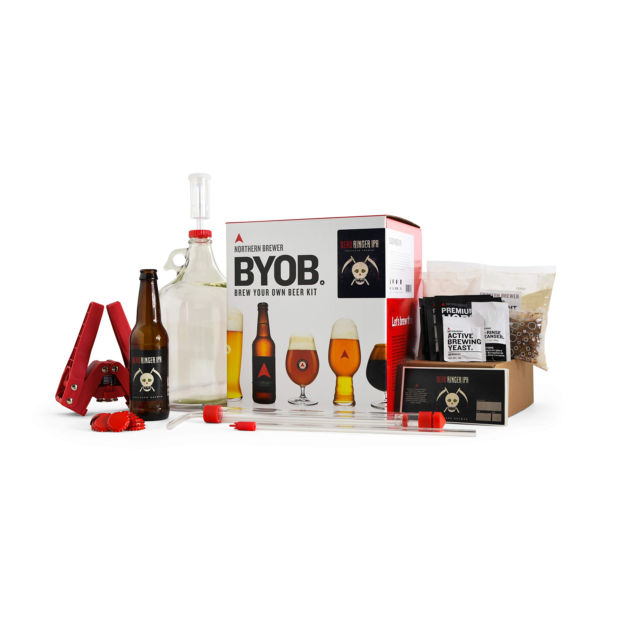 BYOB by Northern Brewer - Brew Your Own Beer Home Beer Making Kit (Dead Ringer IPA)