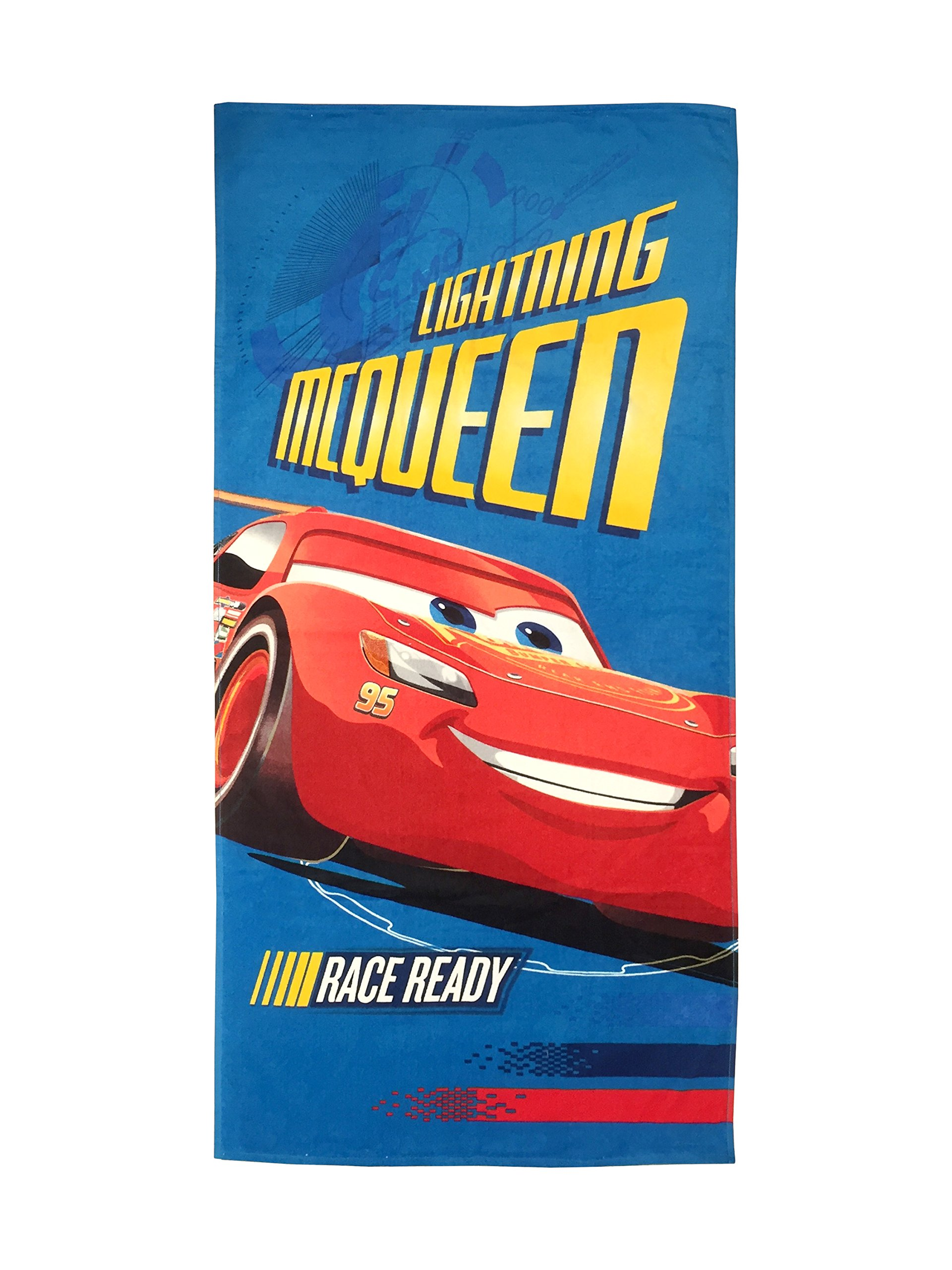Disney/Pixar Cars 3 Movie Stacking Cotton Pool/Beach/Bath Towel