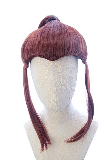 Game Overwatch Brigitte Cosplay Long Halloween Wig Hair Cosplay Full Wigs
