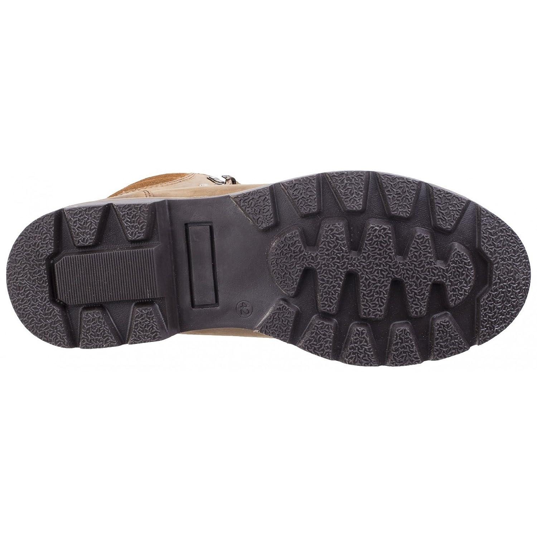 Darkwood Mens Maple Water Resistant Resistant Resistant Leather Warm Lined Walking Stiefel 85760c