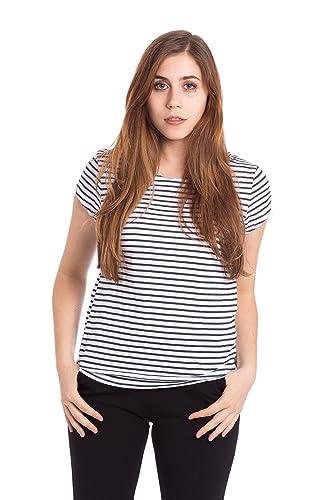 Abbino 37024 Shirts Tops para Mujeres - Hecho en ITALIA - 3 Colores - Entretiempo Primavera Verano O...