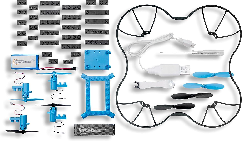 pour Les Enfants de 14 Ans et Plus Drone T/él/écommand/é /à 2.4GHz TR-D5 Composantes DIY de Top Race