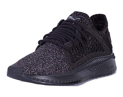 13eaacb55e Puma Tsugi Netfit Evoknit Sneaker White, Schwarz - Black/Steel Grey - Größe: