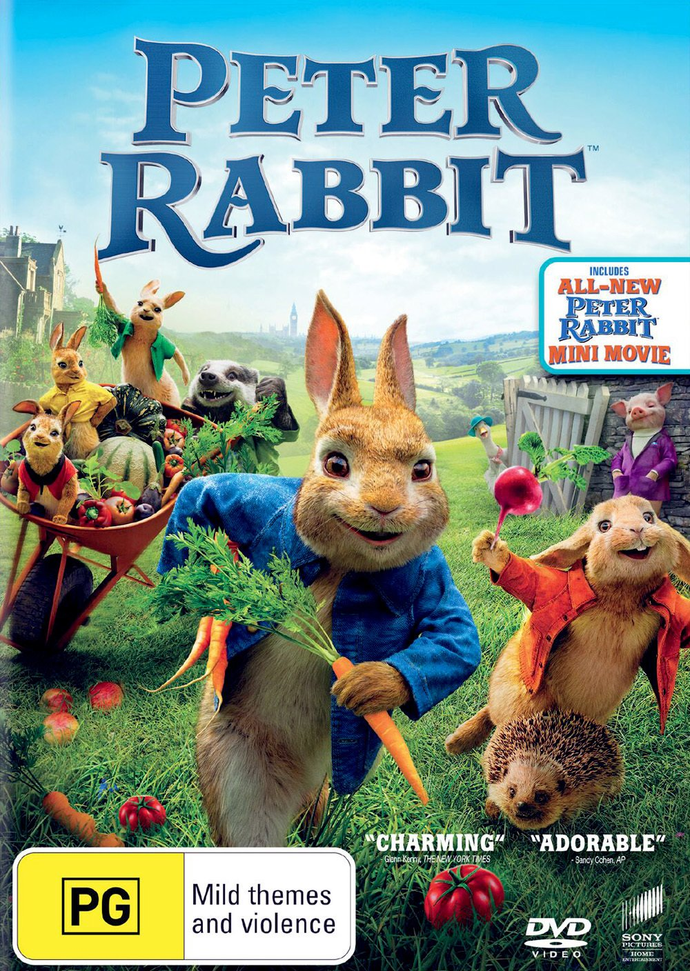 Peter Rabbit The 2018 Movie Non Usa Buy Online In Papua New Guinea At Desertcart