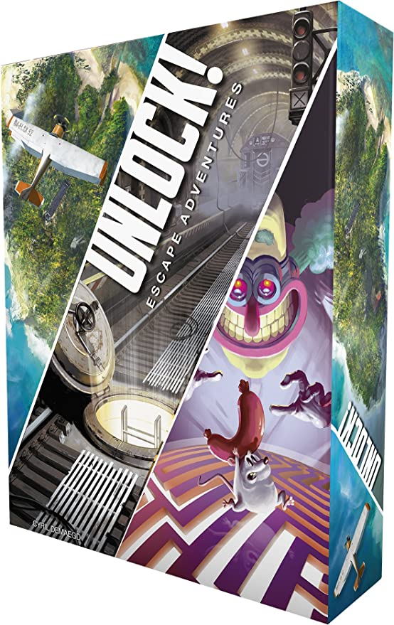 Asmodee-Unlock Escape Adventures, SCUNLOCK01FR: Amazon.es: Juguetes y juegos