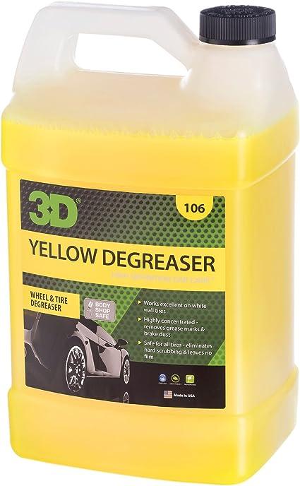 Desengrasante amarillo. Limpiador de rueda y neumático.: Amazon.es ...
