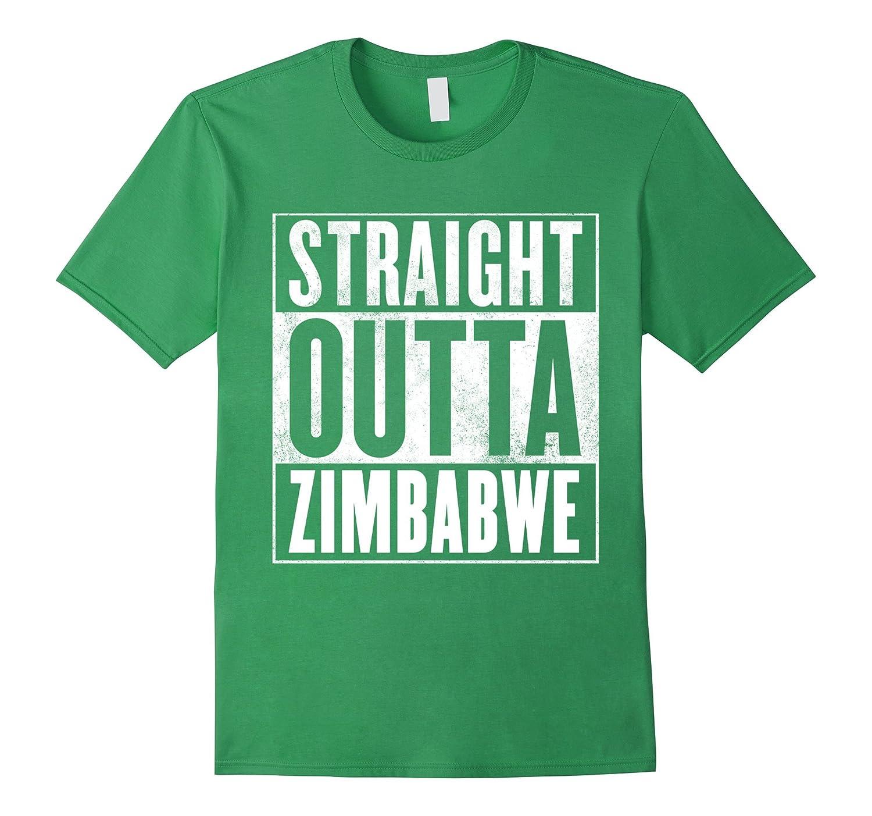 70285d08 Zimbabwe T-Shirt – STRAIGHT OUTTA ZIMBABWE Shirt-RT – Rateeshirt