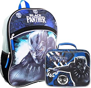 Marvel Black Panther Boys School Backpack Book bag Molded 3D Avengers Superhero