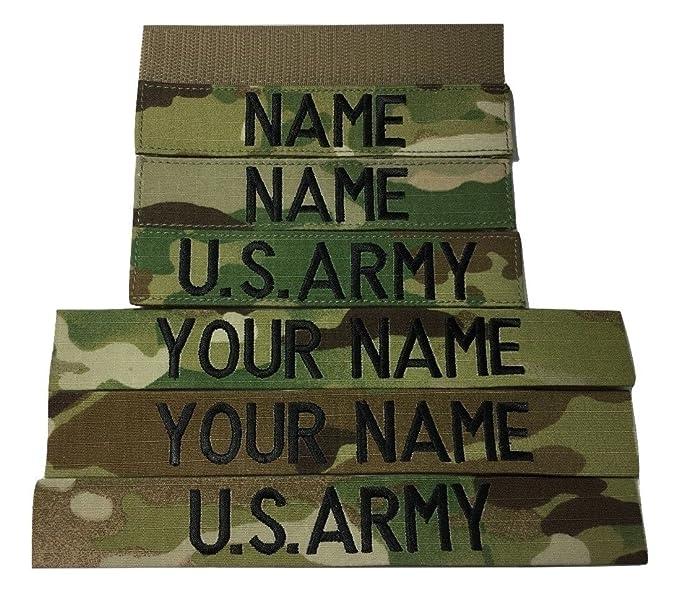 Amazon.com  3 pieces MULTICAM OCP Name Tape   US Army Tape  Clothing 2f6f76e98ff