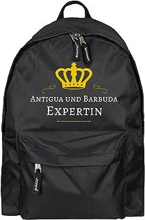 Antigua-et-barbuda experte sac à dos noir multifanshop