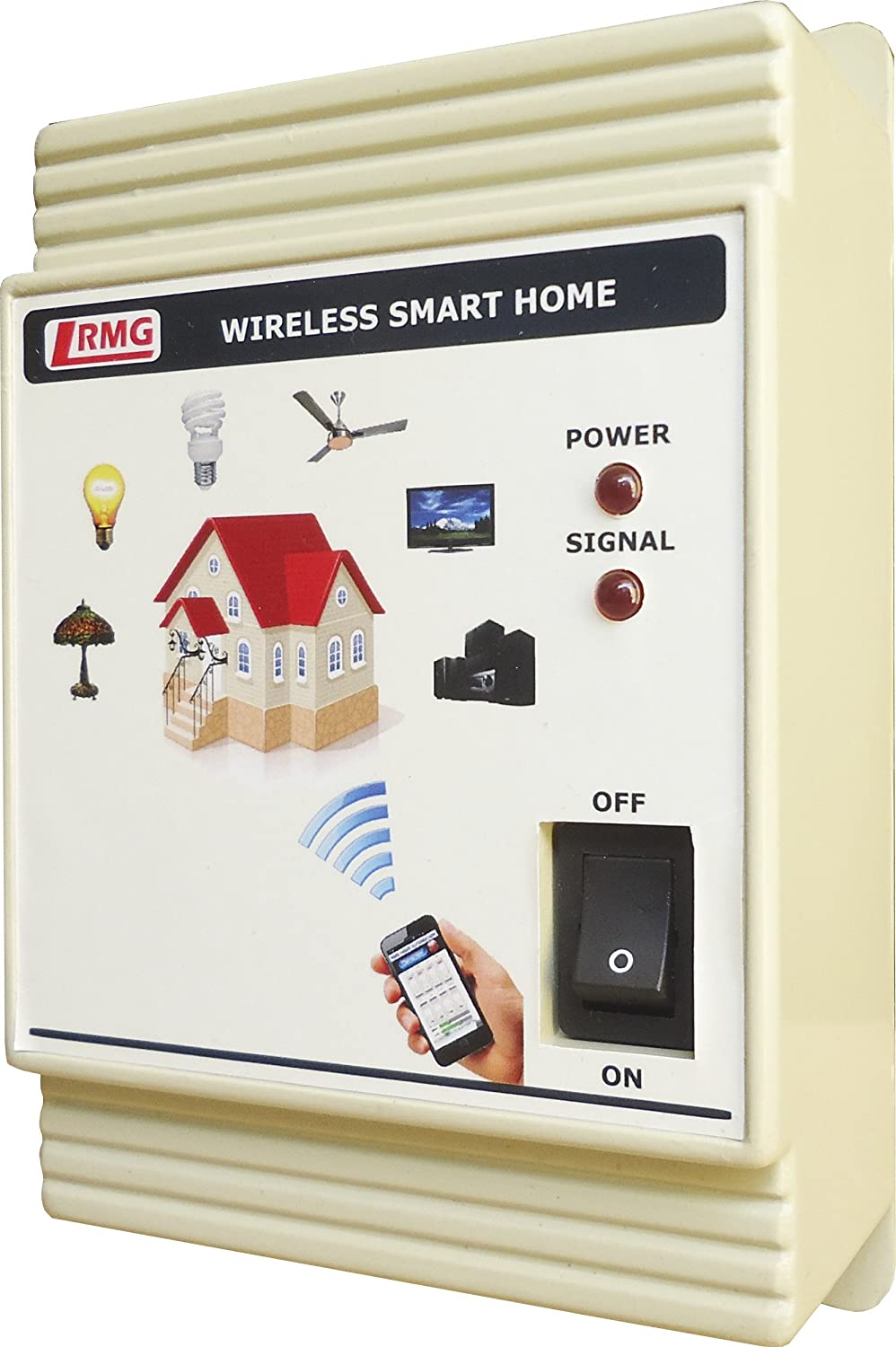 Buy Android Smart Home Automation - 2 Fan & 4 AC Appliances Control ...