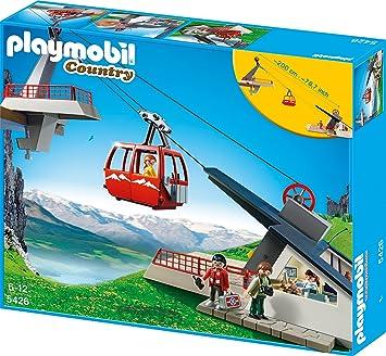 Playmobil 5426 Seilbahn Mit Bergstation Amazonde Spielzeug