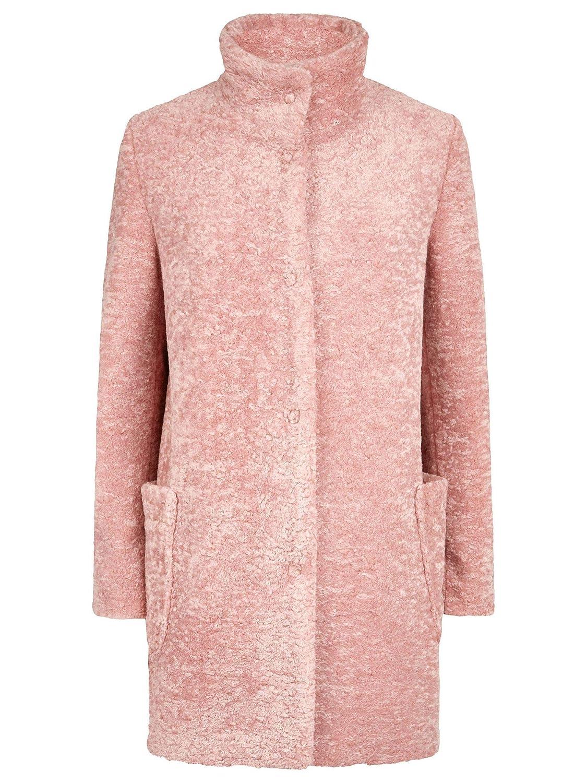 (ジュームズ レイクランド) James Lakeland Teddy Faux fur coat テディフェイクファーコート(並行輸入品) 10 ブラック B07MJXL287