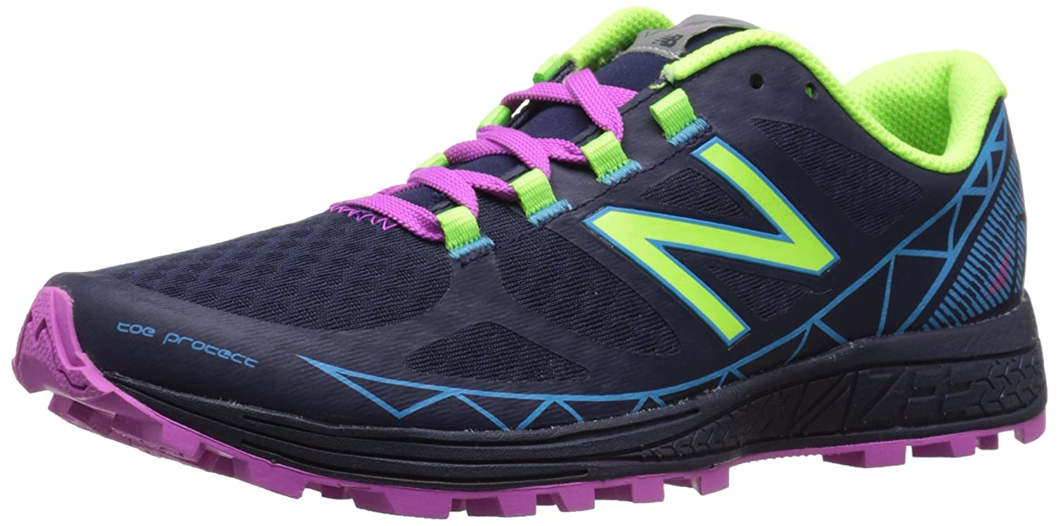 New Balance Women's Summit Trail Shoe B0163GL7V0 5 B(M) US|Abyss/Toxic