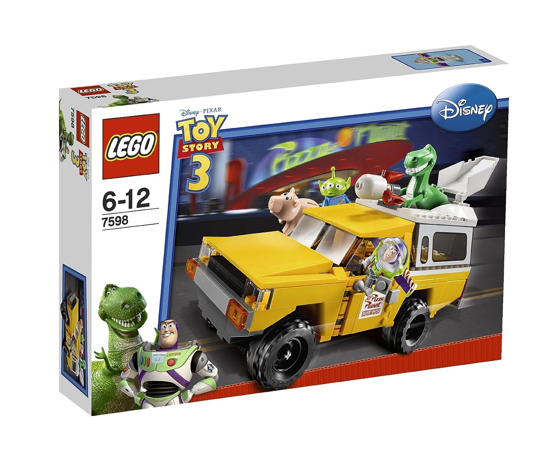 Lego Toy Story Pizza La Carrera En La Camioneta De Pizza Planet