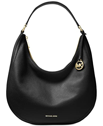 01279408727e1 Amazon.com  Michael Kors Lydia Large Leather Hobo Shoulder Bag  Shoes