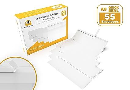 amazon com a6 invitation 4x6 envelopes 4 x 6 for wedding