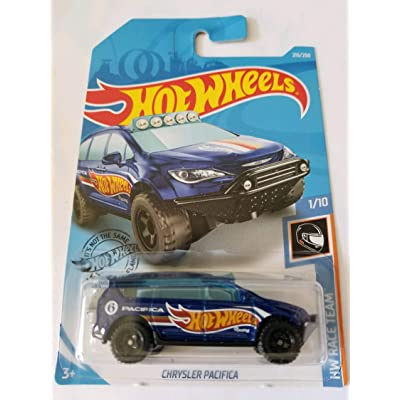 Hot Wheels 2020 Hw Race Team - Chrysler Pacifica, Blue 215/250: Toys & Games