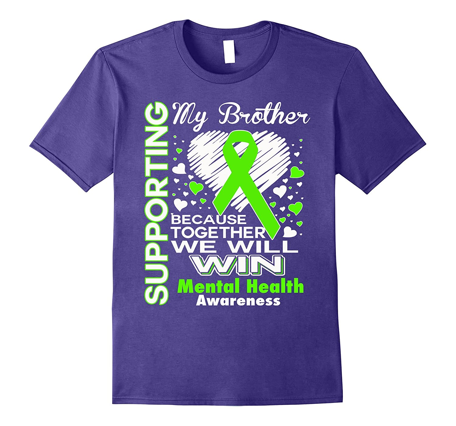 Supporting My Brother - Mental Health Awareness shirt-CD