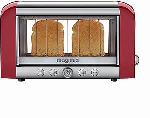Magimix Toaster Vision Red 1450 Watt Toaster