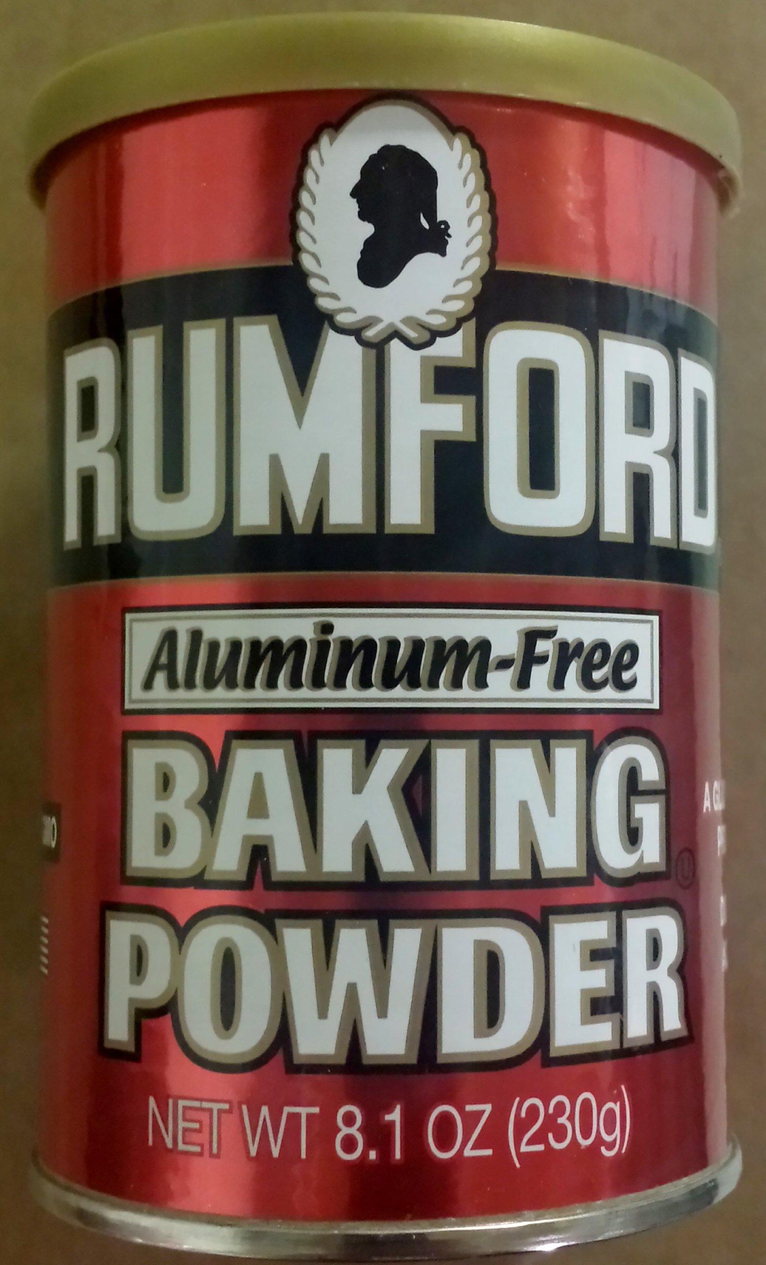 Rumford Baking Powder No Aluminum (3x8.1 OZ)