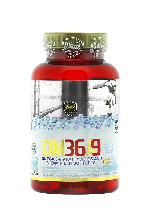 OMEGA 3-6-9 90 Perlas - Ácidos Grasos Esenciales Omega 3 y Vitamina