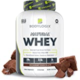 Bodylogix Natural Grass-Fed Whey Protein Powder, NSF Certified, Decadent Chocolate, 4 lb
