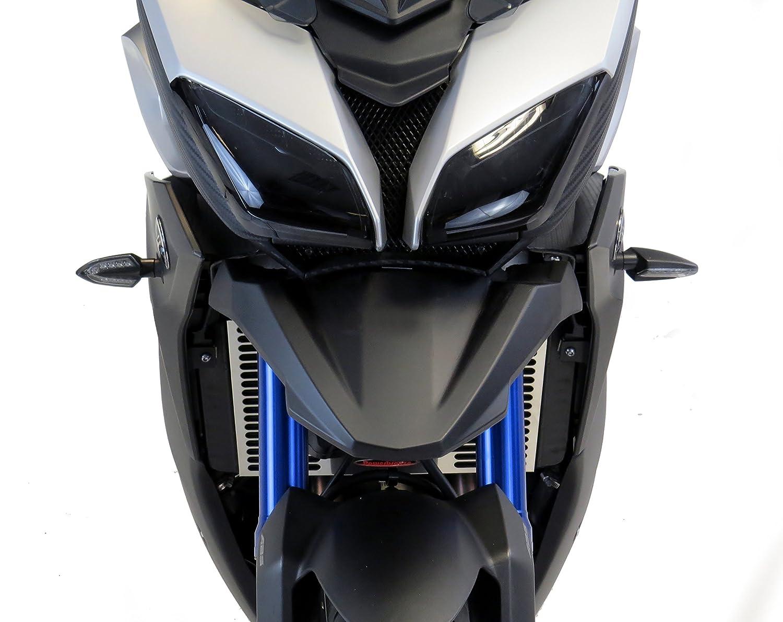 Pico de color negro mate para Yamaha MT-09 15-16//FJ-09